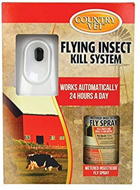 Country Vet Flying Insect Kill System