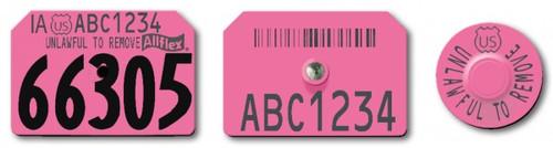 AllFlex Swine Premise ID Tags