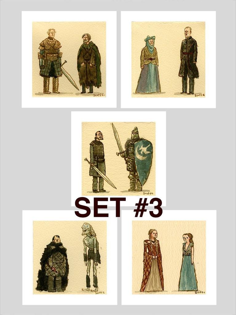 Great Showdowns (GoT Edition) - Print Set #3