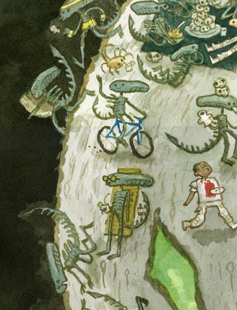 Life On Planet Alien