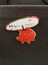 Helicopter Dog Enamel Pin