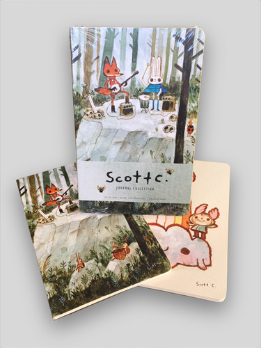 Scott C. Blank Notebook Collection (Set of 2)