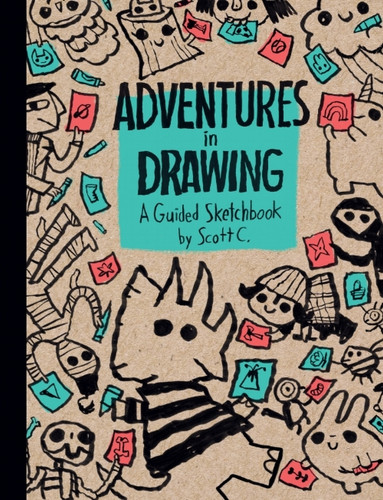 ADVENTURES IN DRAWING: A Guided Sketchbook!