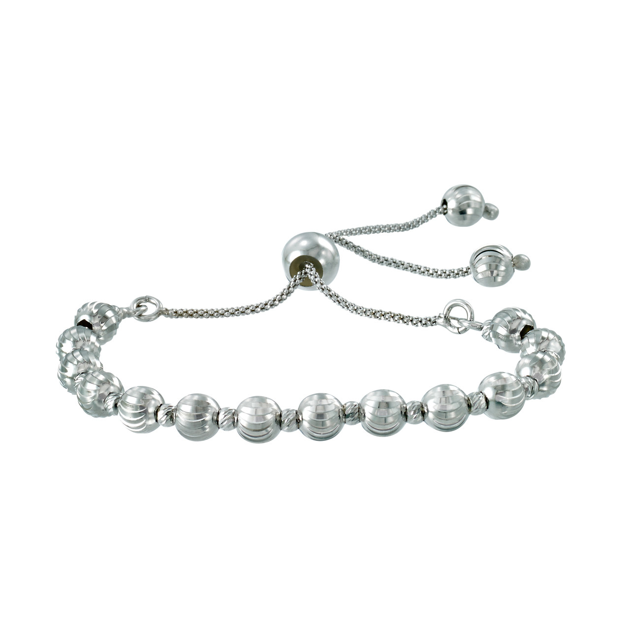 bolo bracelet hover zoom silver to diamond in cross sterling