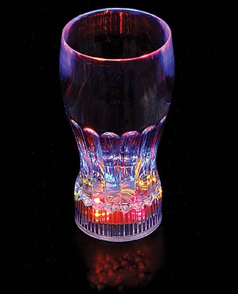 "5.75"" Flashing Glass - 10 oz"