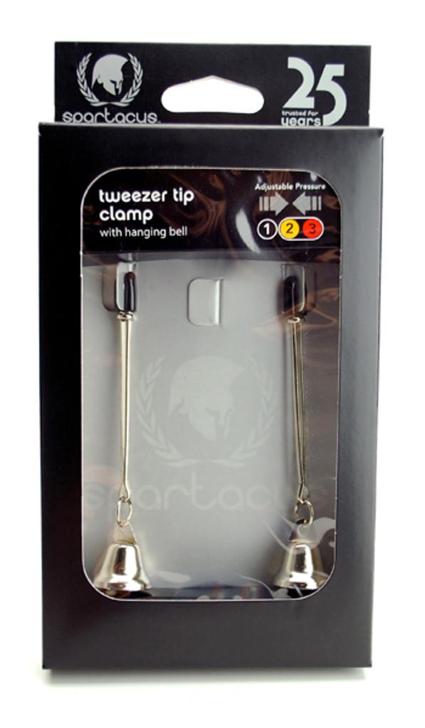 Adjustable Tweezer Nipple Clamps Includes Bells