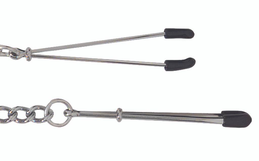 Adjustable Tweezer Clamps Includes Link Chain