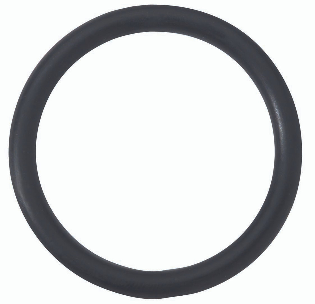 "2"" Rubber Cock Ring - Black"