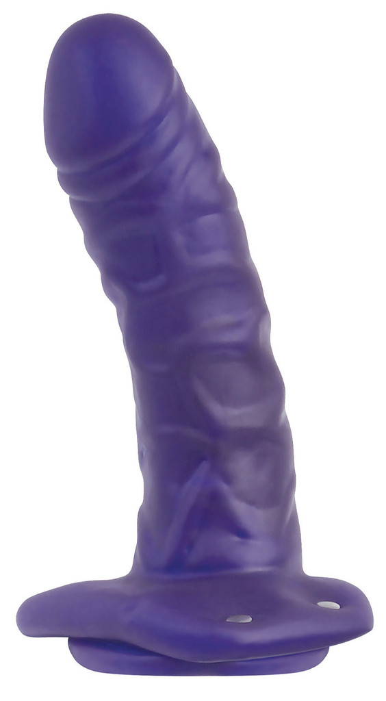 Adam & Eve Universal Hollow Strap On - Purple