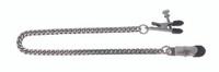 Adjustable Broad Tip Clamps - Jewel Chain