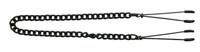 Adjustable Black Tweezer Nipple Clamps Includes Chain