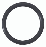 "1.5"" Rubber Cock Ring - Black"