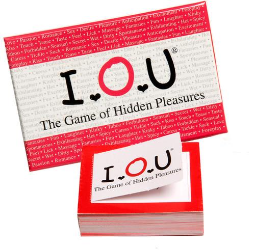 I.O.U Game Of Hidden Pleasures