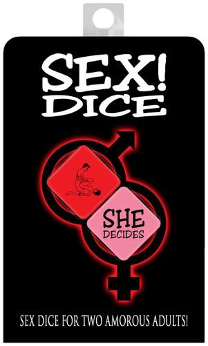 Sex! Dice