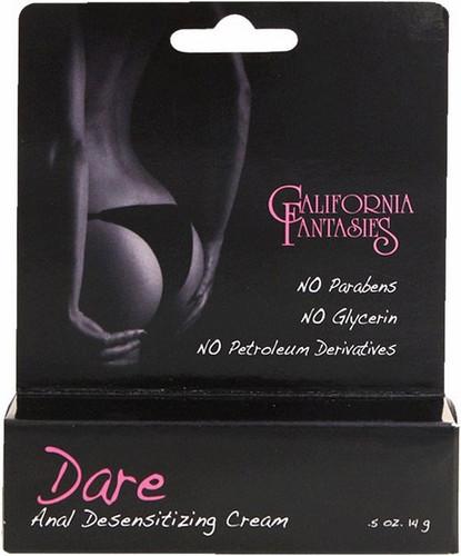 Dare Anal Desensitizing Cream - .5 oz Tube Boxed