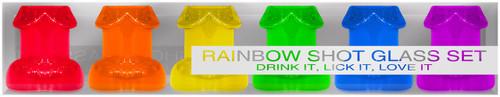 Rainbow Shot Glass Set