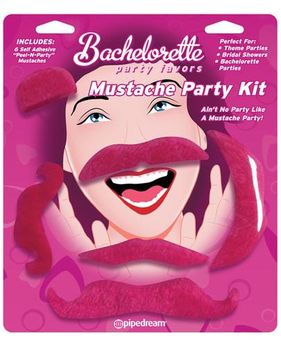 Bachelorette Party Favors Mustache Party Kit