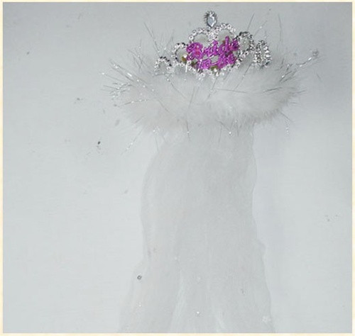 Bachelorette Flashing Tiara Includes Veil