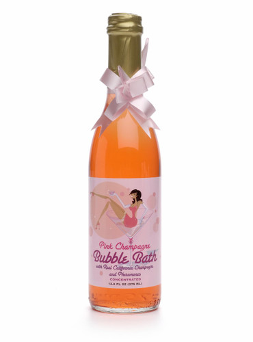 Pink Champagne Bubble Bath - 12.2 oz Includes Pheromones