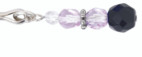 Beaded Clit Clamp - Purple