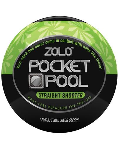 Zolo Pocket Pool Straight Shooter
