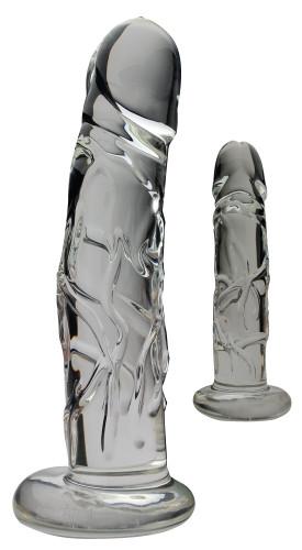 Blown Medium Realistic Glass - Clear