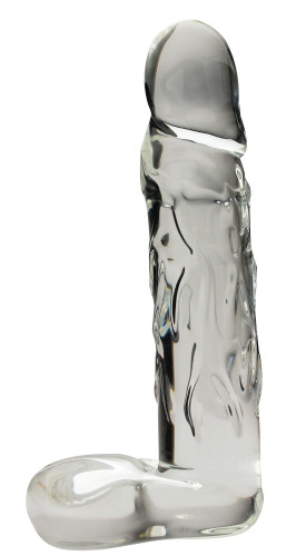 Blown Large Realistic Glass - Clear