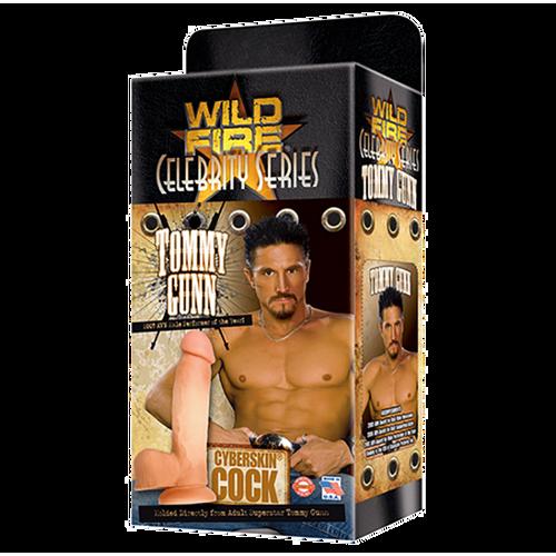 Wildfire Celebrity Series Tommy Gunn CyberSkin Cock