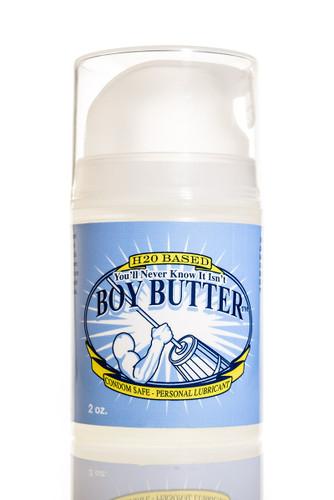 Boy Butter Ez Pump H2O Based Lubricant - 2 oz