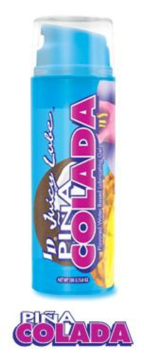 Id Juicy Waterbased Lube - 3.8 oz Pump Pina Colada