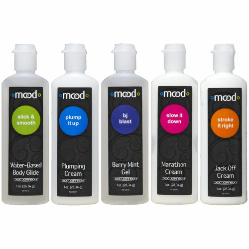 Mood Lube Pleasure For Him - Asst. Pack Of 5