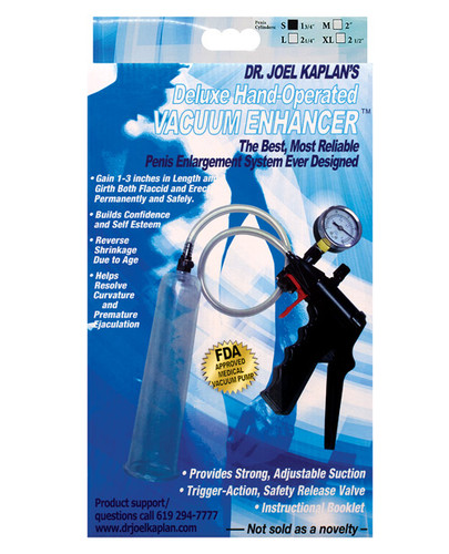 "Dr. Joel Kaplan X-Large Male Enlargement Pump System 2.5"" I.D."
