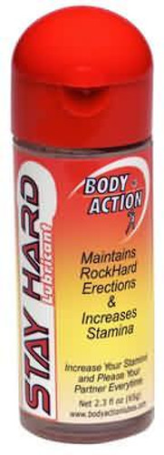 Body Action Stayhard Lubricant - 2 oz