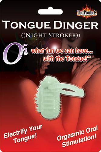 Tongue Dinger - Glow In The Dark Night Stroker