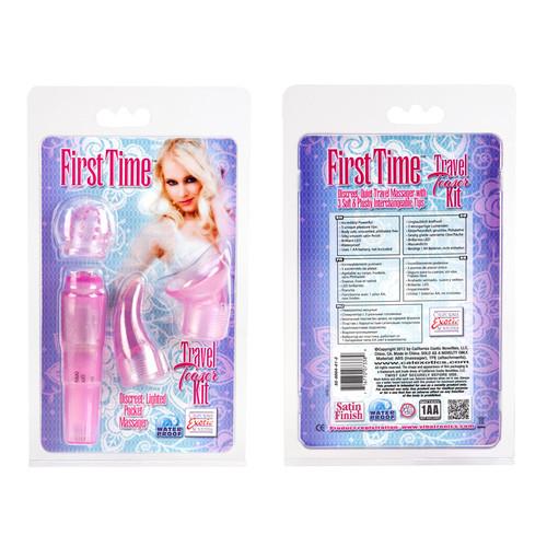 First Time Travel Teaser Kit - Pink