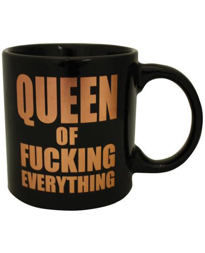 Attitude Mug Queen Of Fucking Everything