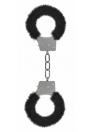 Beginner's Handcuffs Furry Black