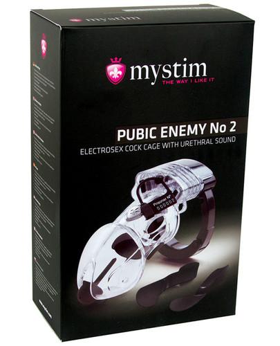 Mystim Pubic Enemy #2 Cock Cage
