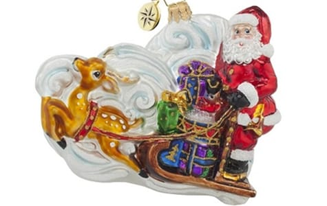 Collectible Santa Claus Christmas Ornament