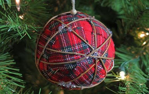 Rustic Themed Christmas Ornaments