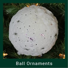 Ball Shaped Christmas Ornament