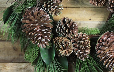 Pre Lit Unlit Artificial Wreaths Garland Christmas Central