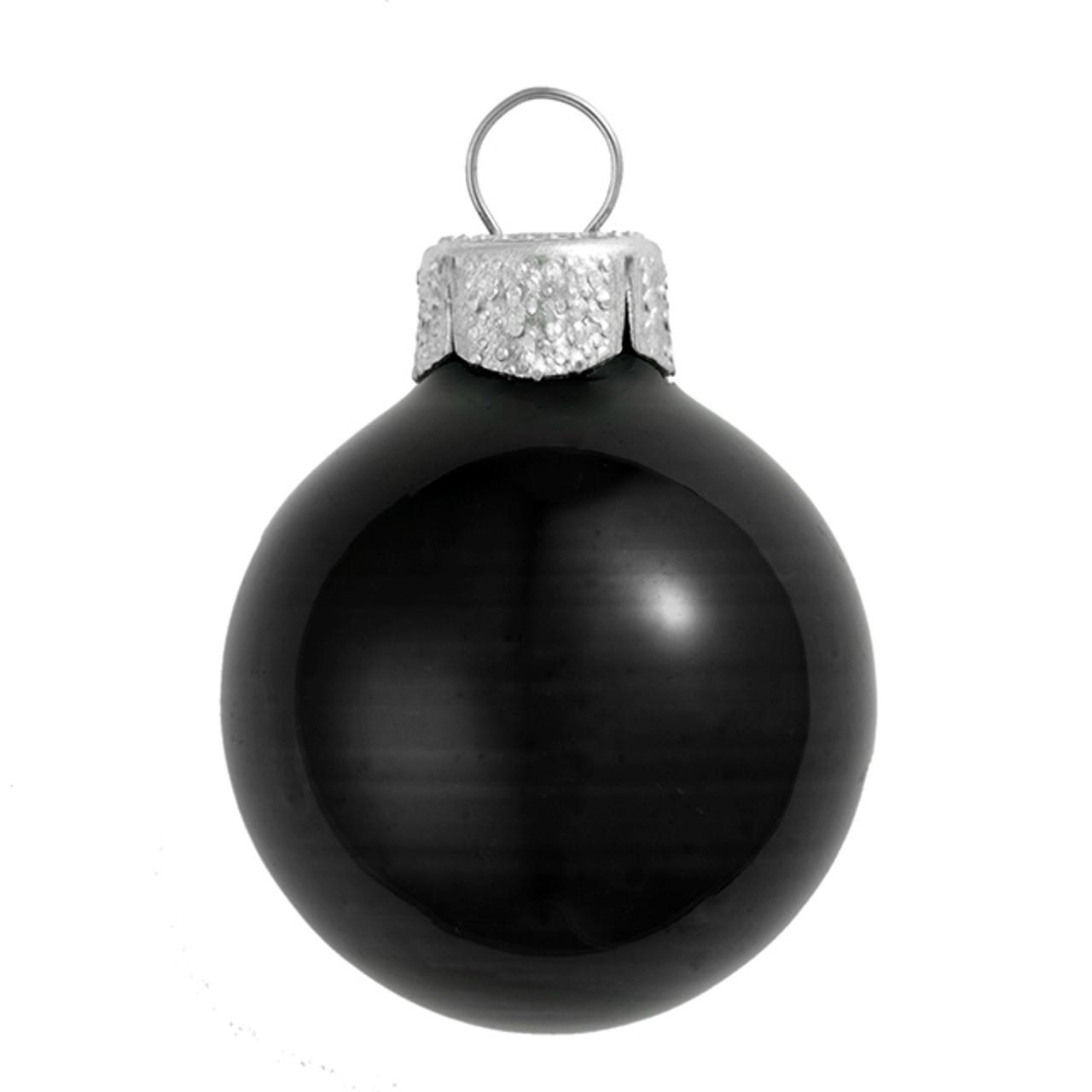 whitehurst - Black Christmas Ornaments