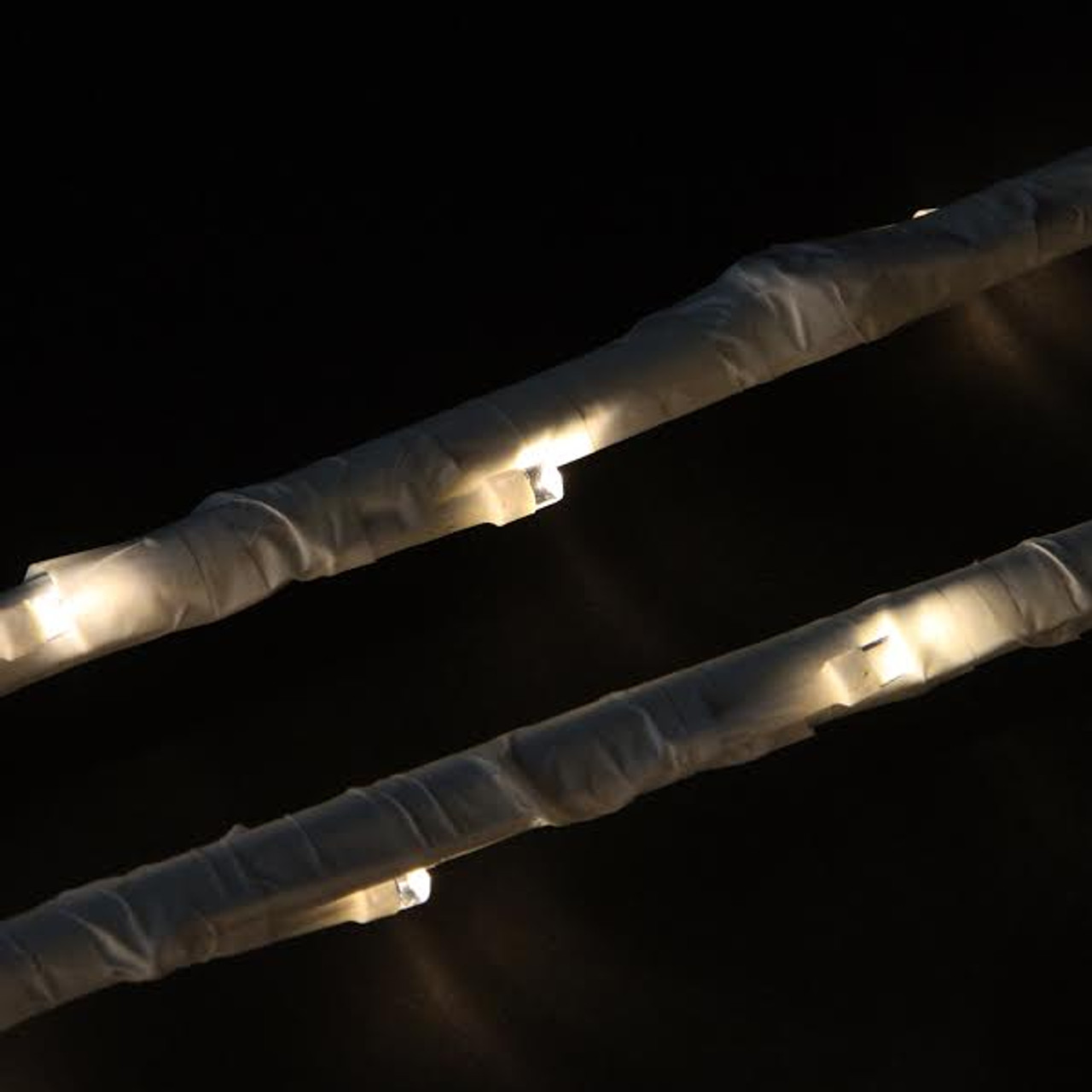 Set Of 6 Enchanted Garden LED Warm White Lighted Branch