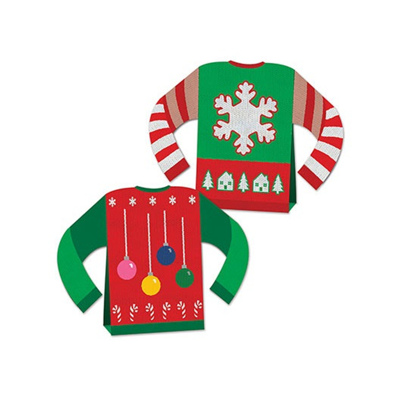 sw seasonal pd shop felt plaid sweaters kits decorations sweater decor products bucilla ornament ugly