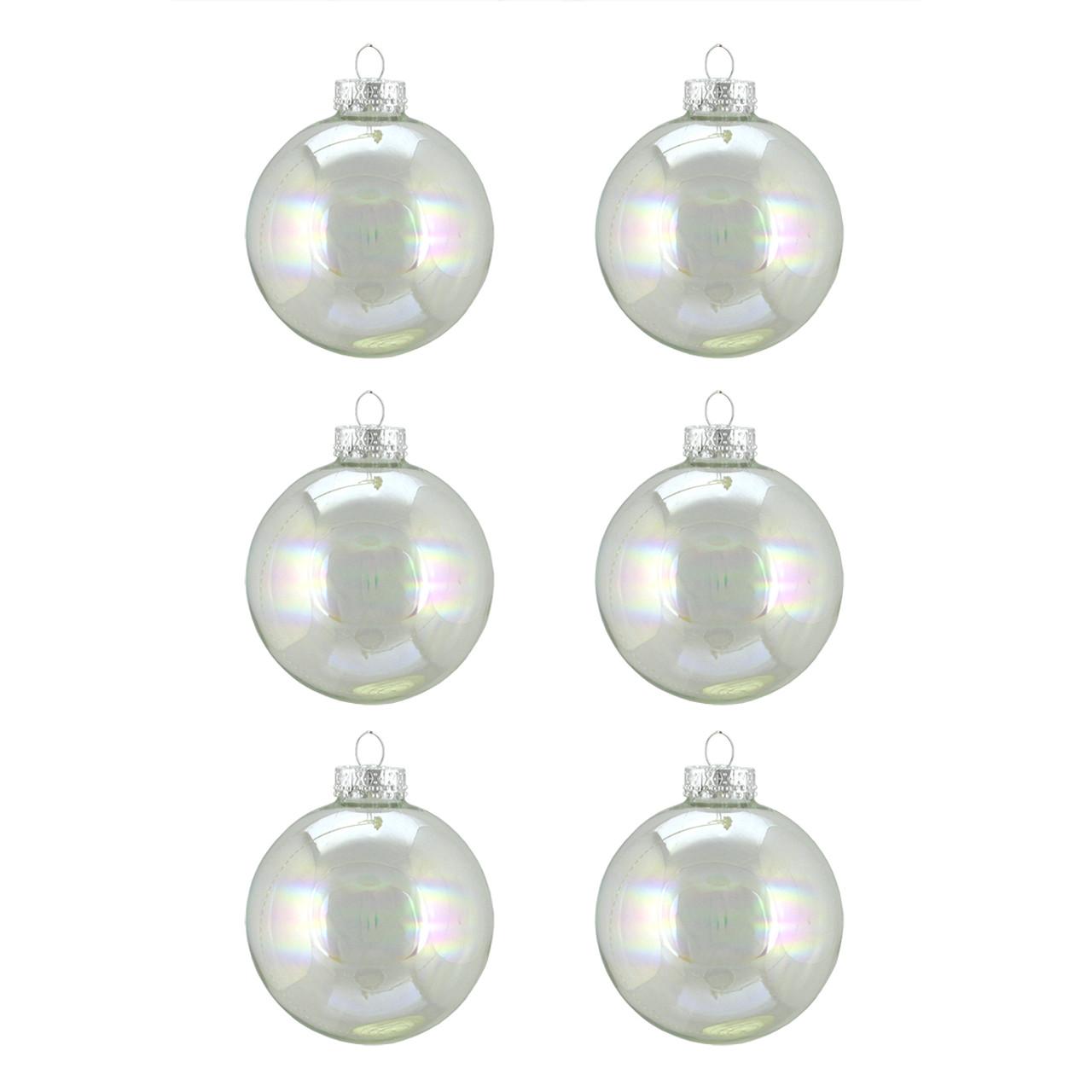 northlight - Iridescent Christmas Tree Decorations
