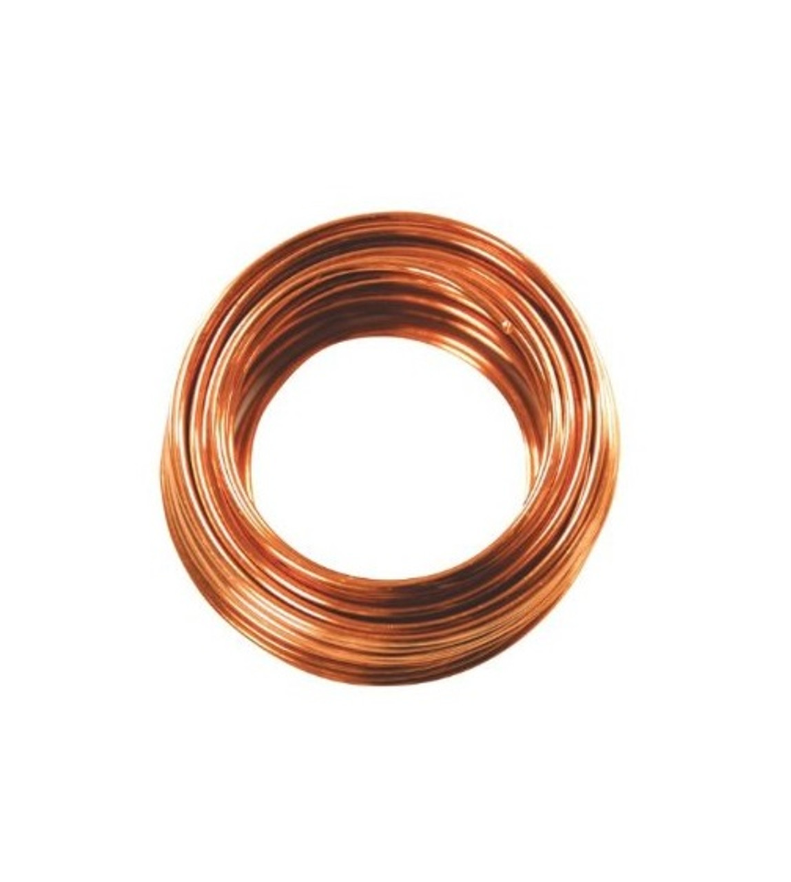4mm Copper Colored Designer Aluminum Wire- Approximately 15 Yards ...