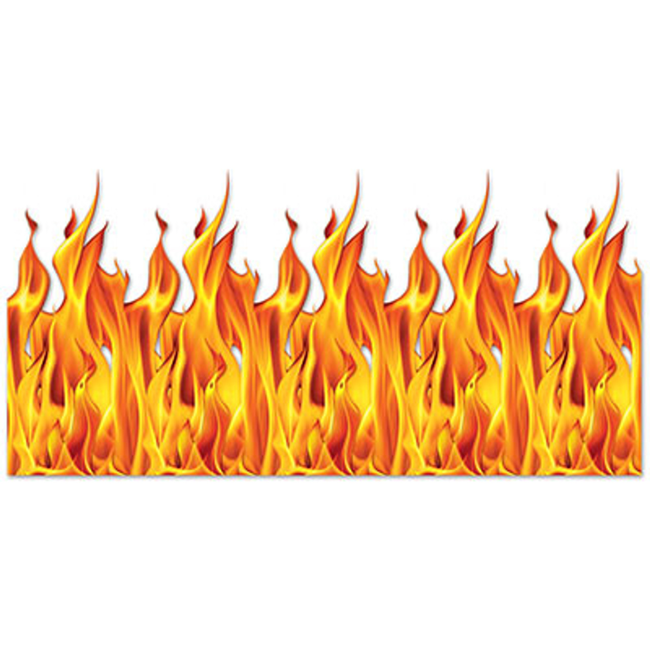 pack of 6 insta theme flame halloween wall backdrop party decorations 4 x 30