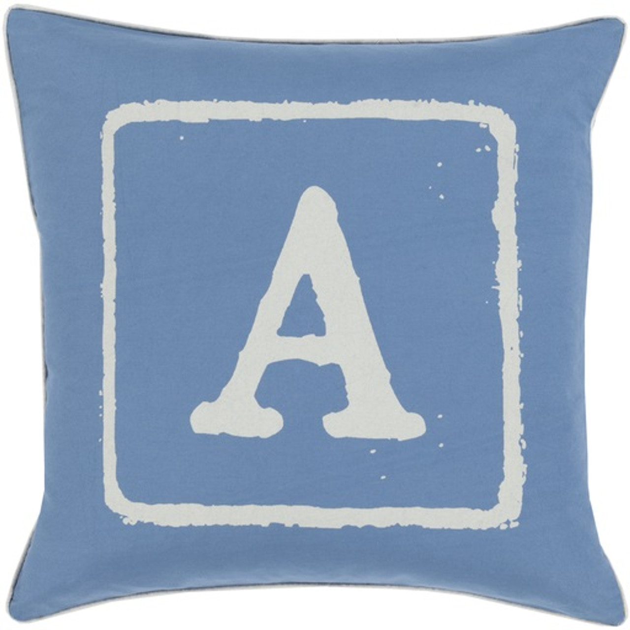Blue Down Throw Pillows : 20