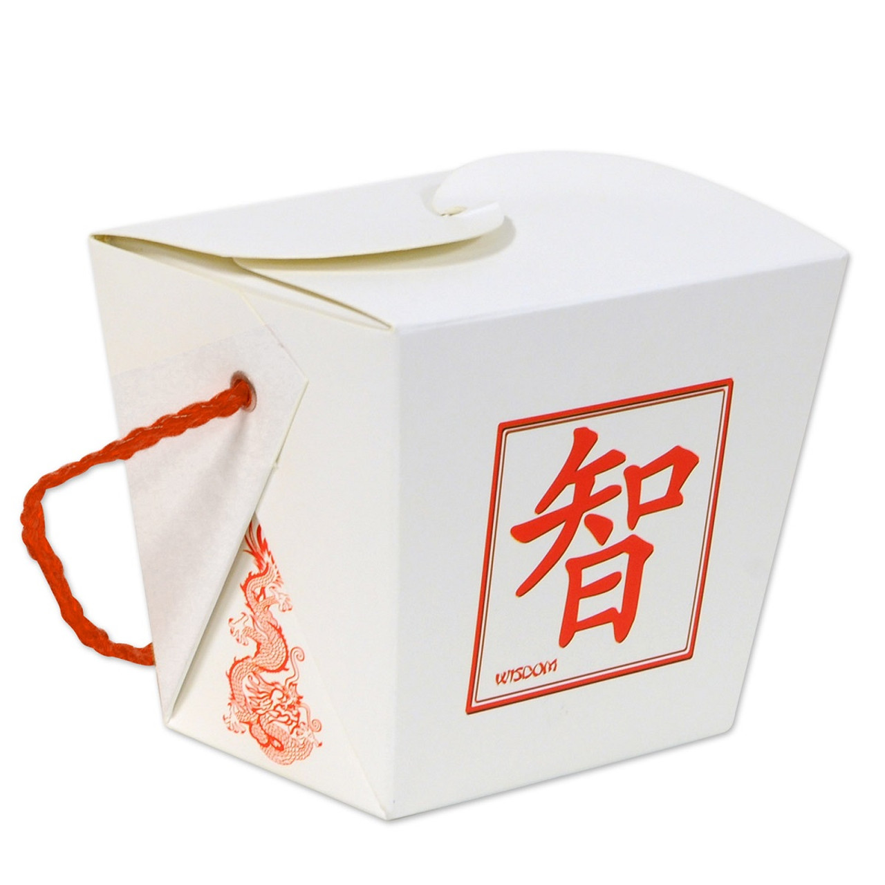 Red Chinese Take Out Favor Boxes : Club pack of asian fusion d pint sized take out style